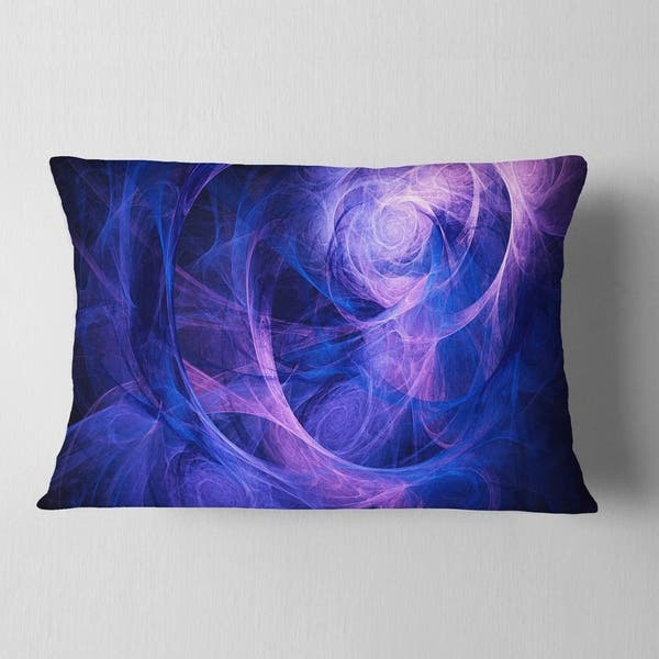 Designart Bright Blue Stormy Sky Abstract Throw Pillow On Sale Overstock 20949845