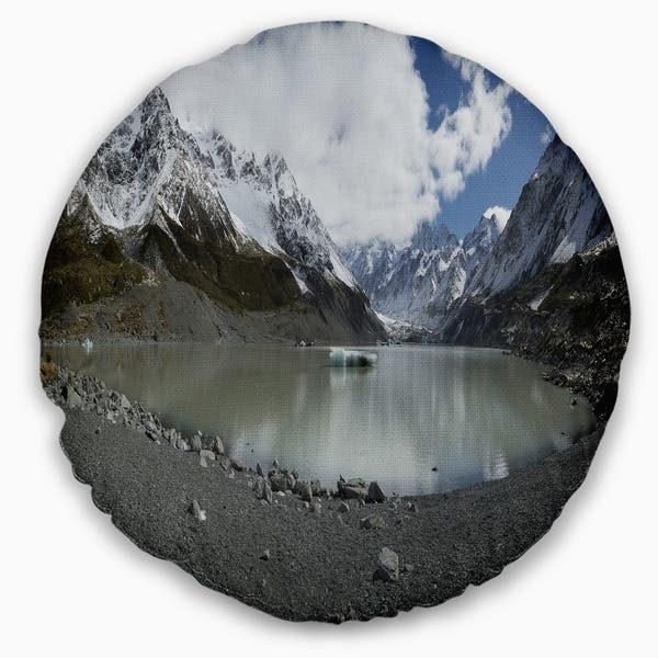 Designart New Zealand Mountains Panorama Landscape Printed Throw Pillow On Sale Overstock 20950079