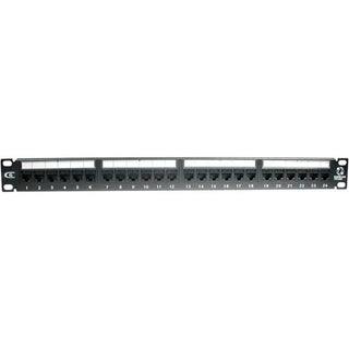 C2G 24-Port Cat6 110-Type Patch Panel