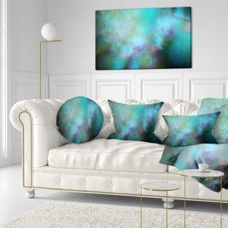 Designart 'Perfect Blue Starry Sky' Abstract Throw Pillow
