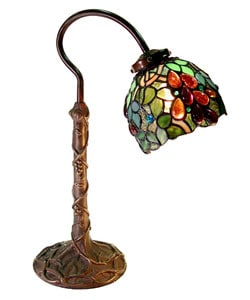 Tiffany-style Grape Desk Lamp