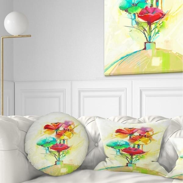 Shop Designart Spring Flowers Bouquet In A Vase Floral
