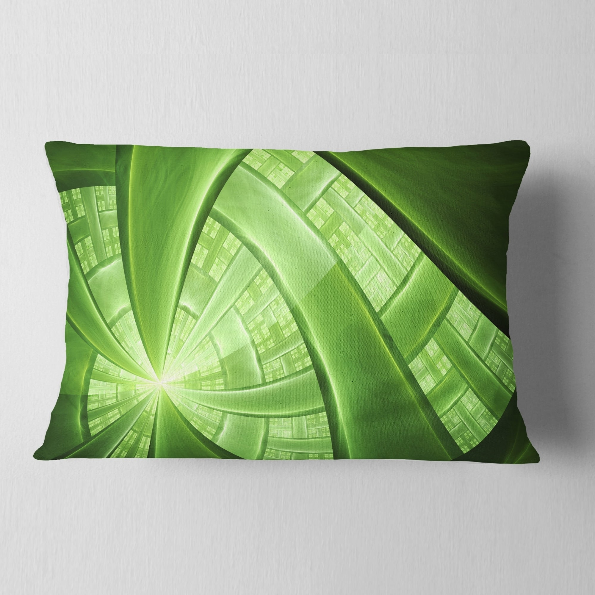 Shop For Designart Green Fractal Exotic Plant Stems Abstract Throw Pillow Get Free Shipping On Everything At Overstock Your Online Home Decor Outlet Store Get 5 In Rewards With Club O 20953002