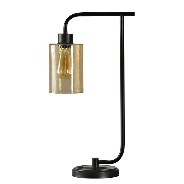 Restoration Bronze Table Lamp Once Gl Shade