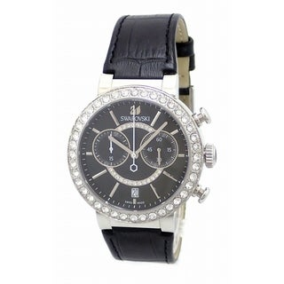 Swarovski elements Women's 5027131 'Citra Sphere' Chronograph Crystal Stainless Steel Watch - silver - N/A