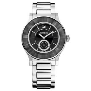 Swarovski elements Women's 1181764 'Octea Classica' Stainless Steel Watch - black