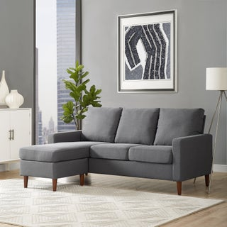 Porch & Den Apartment Reversible Sectional (2 options available)