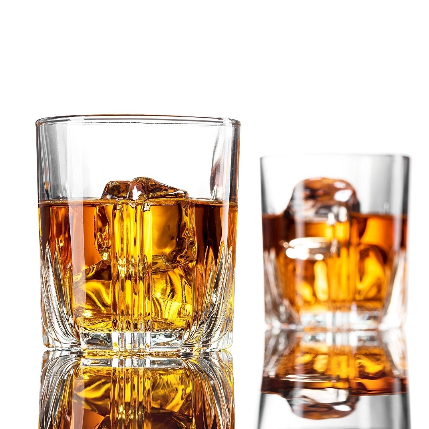 Whiskey Glass Set Italian Crafted Whiskey Glasses 6piece Exquisite Cocktail set