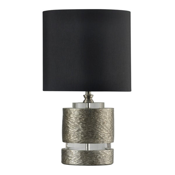 Shop Jane Seymour Georgian Silver Table Lamp Black