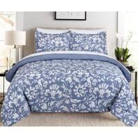 Nouvelle Home Porcelain Reversible Cotton Comforter Set