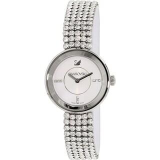 Swarovski elements Women's 1183490 'Piazza Mini' Crystal Stainless Steel Watch - silver