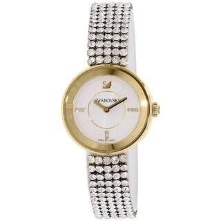 Swarovski elements Women's 1194086 'Piazza Mini' Crystal Stainless Steel Watch - silver