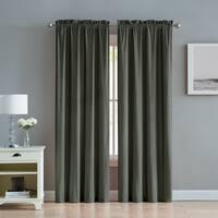 VCNY Home Velvet Window Curtain Set