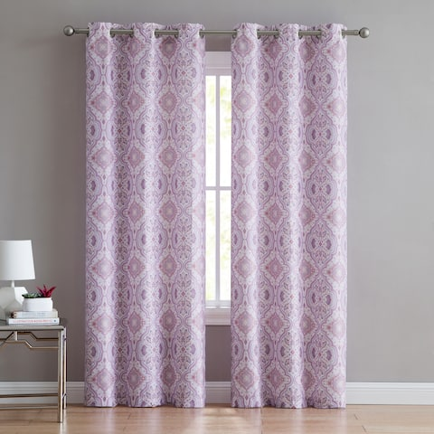 VCNY Home Like the Wind Blackout Curtain Set