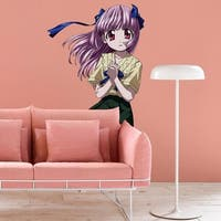"""Girl Anime Full Color Wall Decal Sticker K-540 FRST Size 46""""x56"""""""