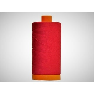 Cotton Mako Thread 50wt 1300m 6ct (Option: Red)
