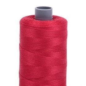 Cotton Mako Thread 28wt 820yd 6ct (Option: Red)