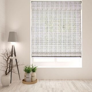 Arlo Blinds Cordless Whitewash Bamboo Shade (4 options available)