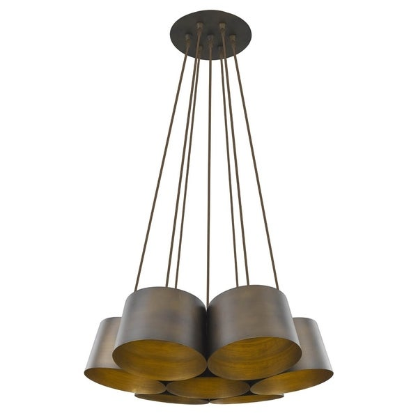 Acclaim Lighting Luna 7-Light Pendant with an Oil Rubbed Bronze Finish