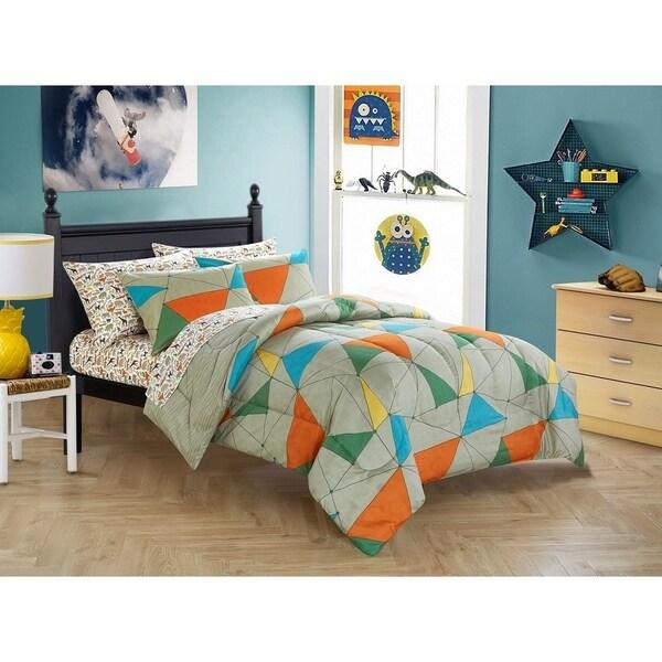 Kids California Safari 7-piece Bed in a Bag Set