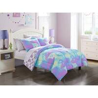 Tie Dye Cloud Kids 7-piece Bed in a Bag Set