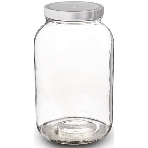 Shop 1 Gallon Glass Jar Wide Mouth With Airtight Plastic Lid Usda