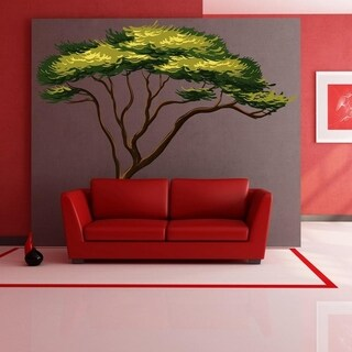 "Tree Nature Full Color Wall Decal Sticker K-542 FRST Size 46""x56"""