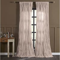 "Cottage Home Ashton Silver Birch Single Curtain Panel - 50"" w x 96"" l"