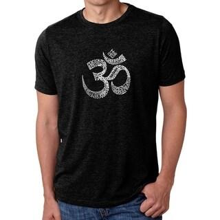 Link to Los Angeles Pop Art Men's Premium Blend Word Art T-shirt - Poses OM Similar Items in Tops