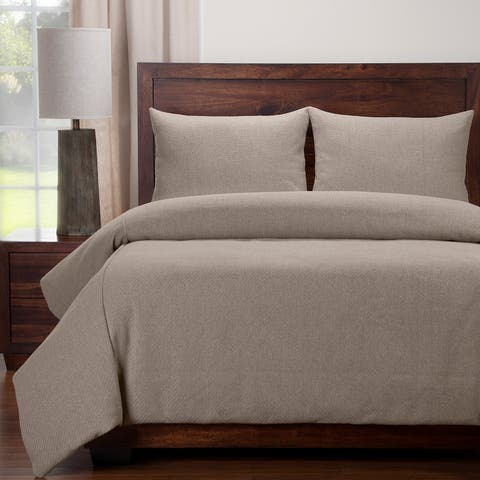 Siscovers Earthy Textured Duvet and Shams Set