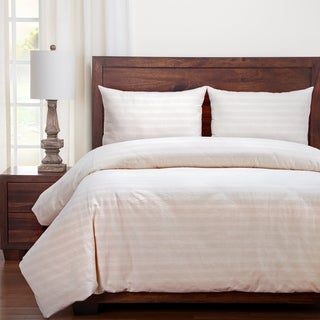 Siscovers Homestead Farmhouse Stripe Cotton Duvet and Shams Set