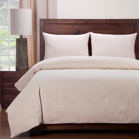 Siscovers Naturalize Cotton Blend Duvet and Shams Set