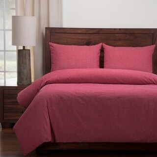 Siscovers Red Barn Cotton Blend Duvet and Shams Set