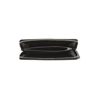 MCM Visetos Original Large Zip Around Wallet