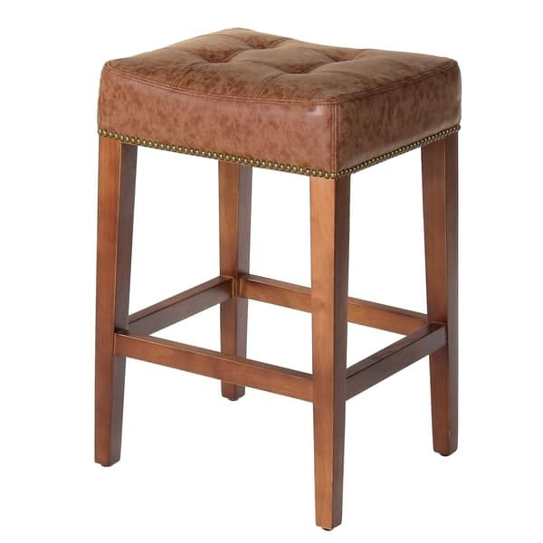 Fabulous Shop Handmade 26 Nashville Vintage Leather Counter Stool Uwap Interior Chair Design Uwaporg
