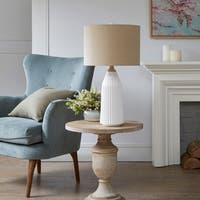 Madison Park Boone White Table Lamp
