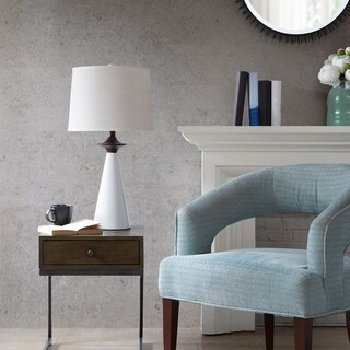Madison Park Kennesaw White Table Lamp