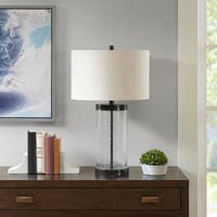 Madison Park Macon Clear Table Lamp