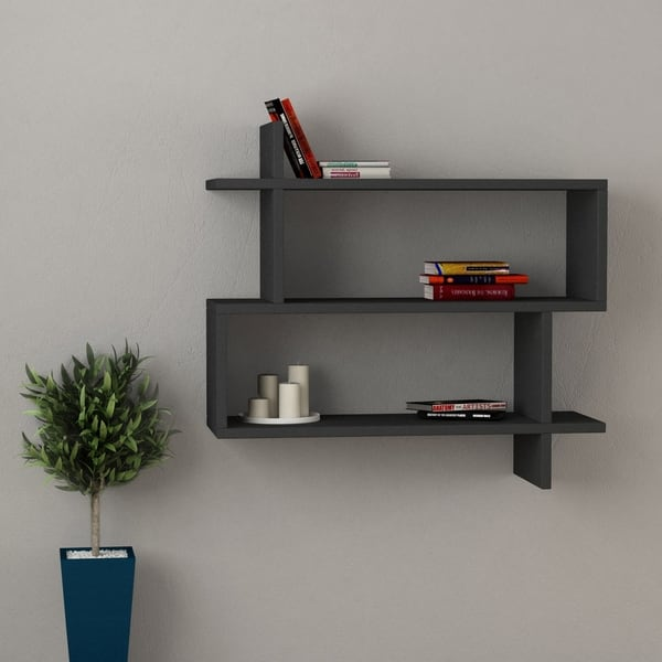 Westcott Modern Wall Shelf 27 5 X 26 8