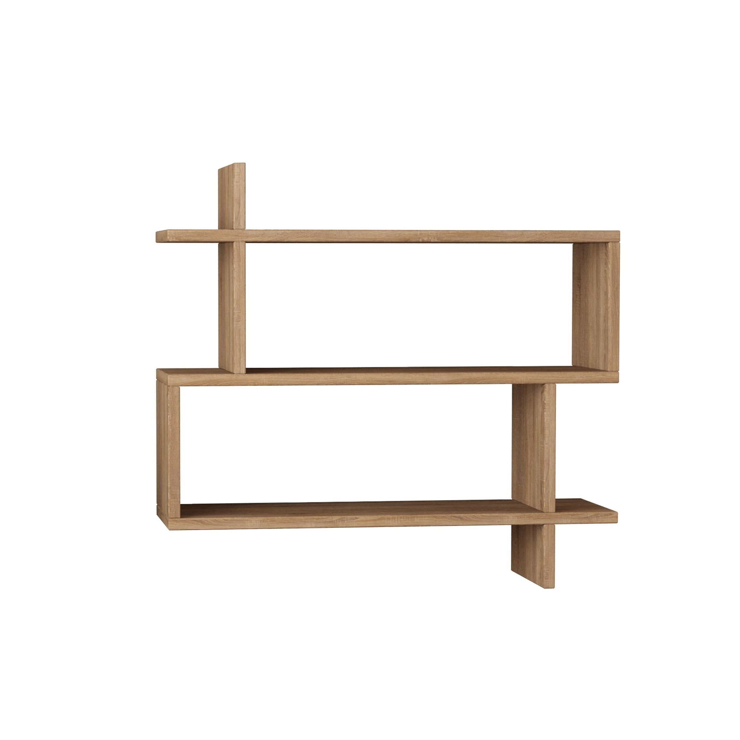 Westcott Modern Wall Shelf 27 5 X 26 8 Storage Shelving Unit