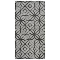 "Rizzy Home Luniccia Grey Geometric Area Rug - 6'6"" x 9'6"""