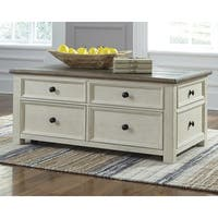 Signature Design by Ashley Bolanburg Two-tone Wood Lift-top Coffee Table