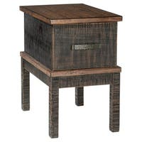 Stanah Two-Tone Chairside End Table