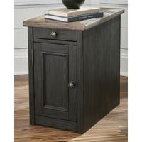 Shop Bolanburg Chairside End Table With Usb Ports
