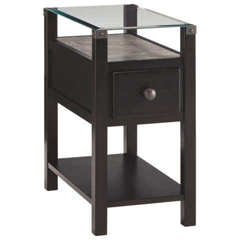 Diamenton Contemporary Chair Side End Table Multi