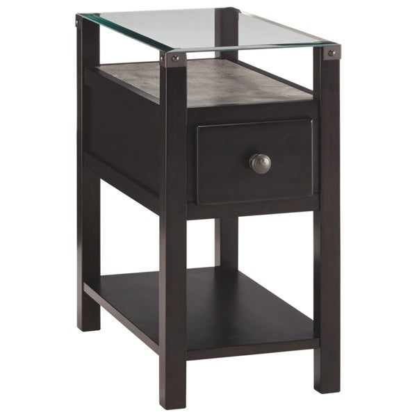 Diamenton Contemporary Chair Side End Table Multi