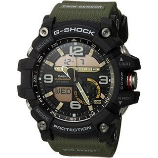 Casio G-Shock GG1000-1A3 Mudmaster Analog/ Digital Watch Green