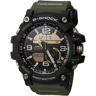Casio G-Shock Master of G Mudmaster Sports Men's Watch (Army Green)