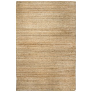 Rizzy Home Baja Natural Solid Area Rug - 5' x 7'