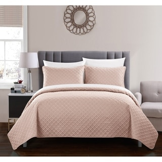 Shop Georgina Cotton 3 Piece Quilt Set On Sale Free
